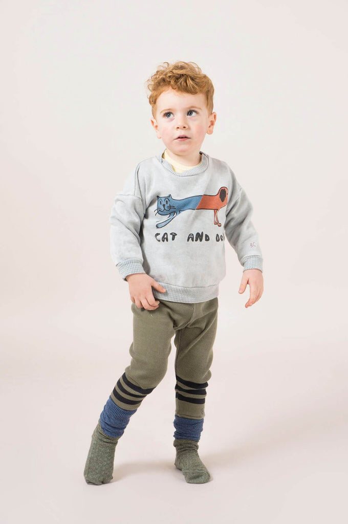 Bobo Choses Blue Stripes Leggings Baby