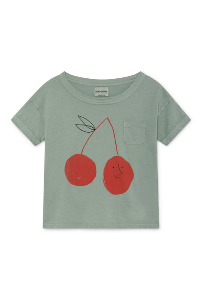 Bobo Choses Cherry Short Sleeve T-Shirt