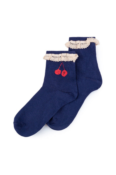 Bobo Choses Cherry Short Socks