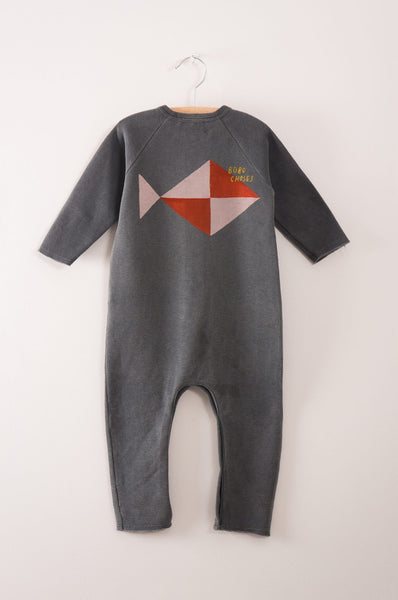 Bobo Choses Fish Fleece jumpsuit