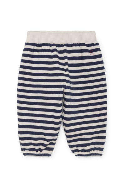 Bobo Choses B.C. Horizontal Stripes Tracksuit Baby