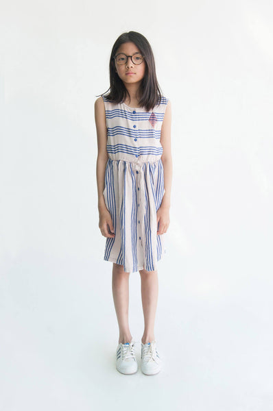 Bobo Choses Legend Striped Shaped Dress