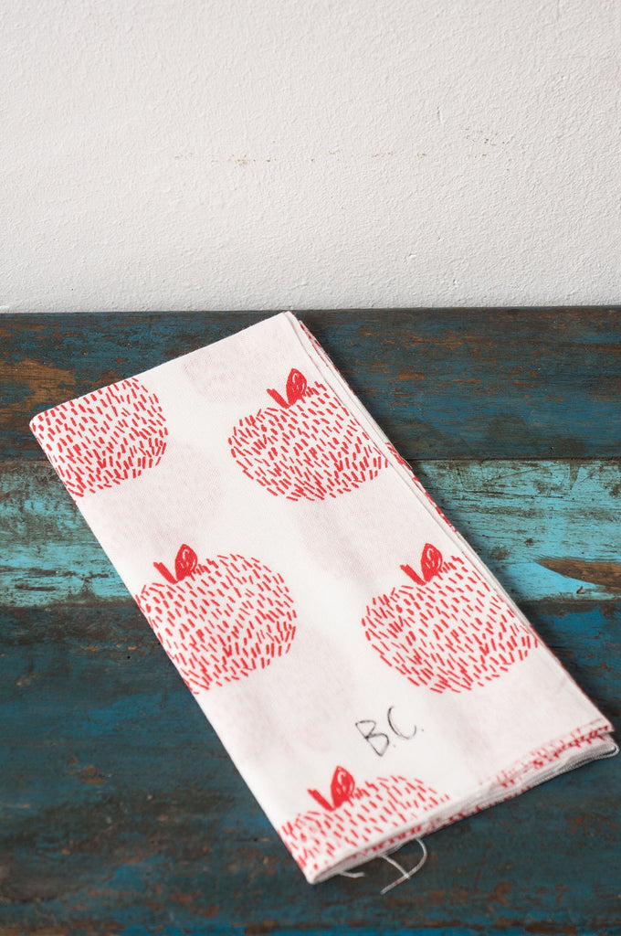 Tenugui Hand Towel Apple