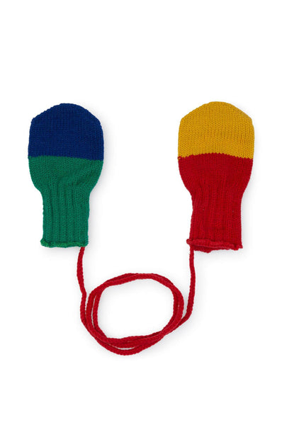 Bobo Choses Multicolor Fingerless Gloves