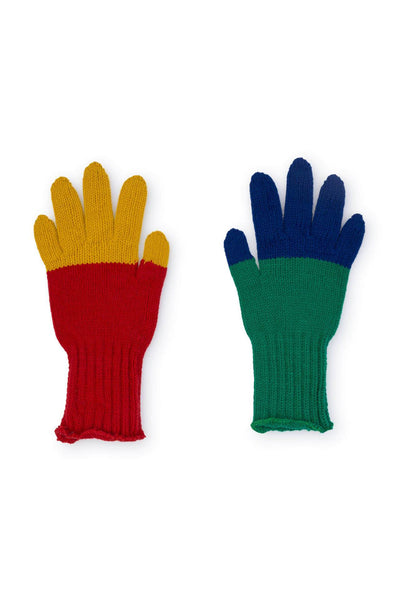 Multicolor Gloves Bobo Choses