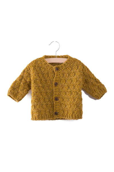 Bobo Choses Octopus Knitted Baby Cardigan