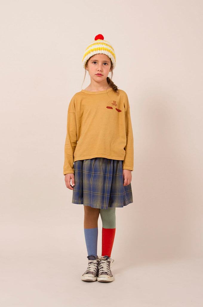 Rainbow Round Neck T-Shirt Bobo Choses