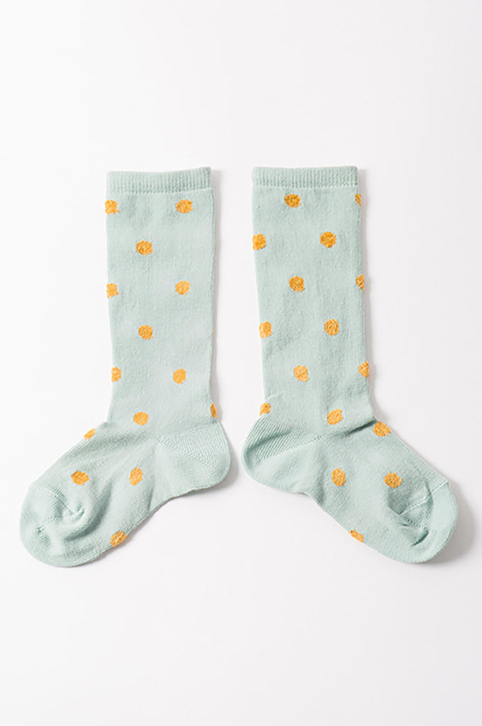 Bobo Choses Short Spotted Green Socks