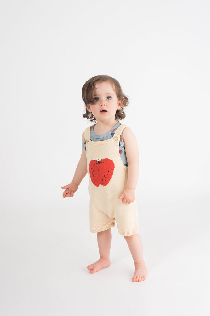 Bobo Choses Strawberry Knitted Overall