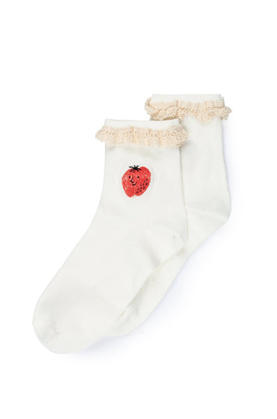 Bobo Choses Strawberry Short Socks
