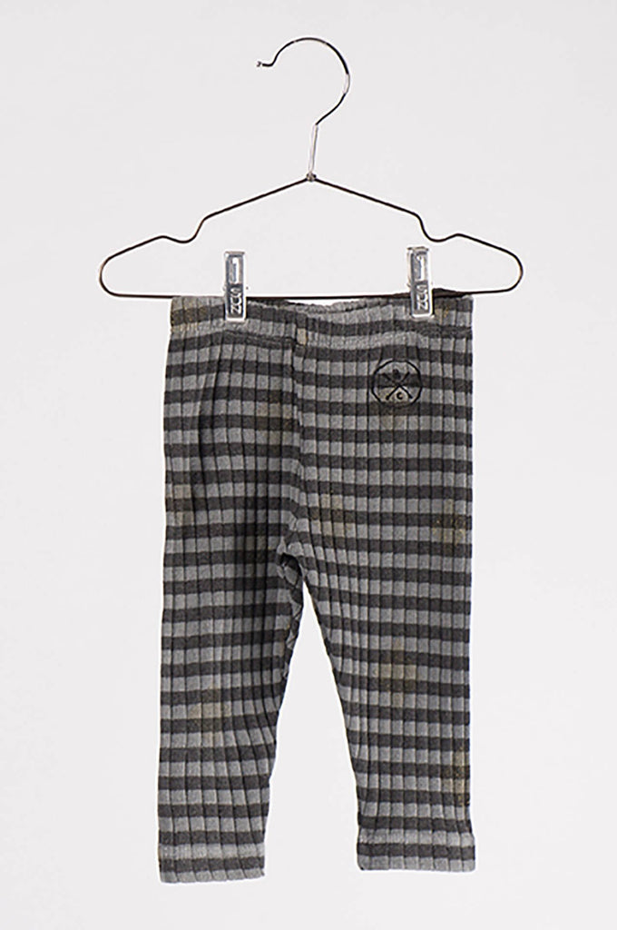 Bobo Choses Grey Stripes Baby Legging
