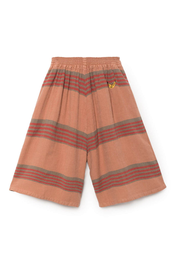 Bobo Choses Stripes Linen Culotte Pants