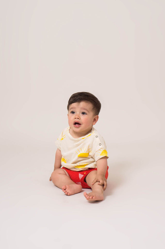 Bobo Choses Sun Short Sleeve Baby T-Shirt
