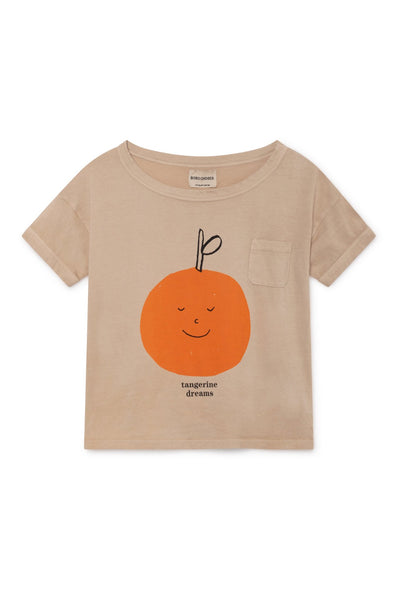 Bobo Choses Tangerine Dreams Short Sleeve T-Shirt