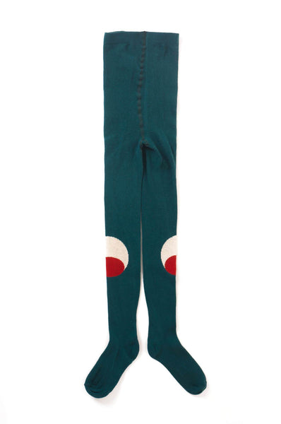 Bobo Choses Eyes Tights Blue