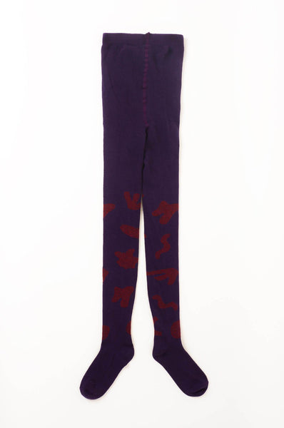Bobo Choses Flocks AO Tights Grape