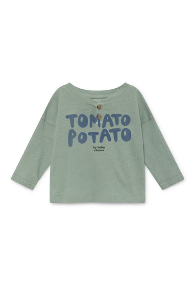 Bobo Choses Tomato Potato Buttons T-Shirt