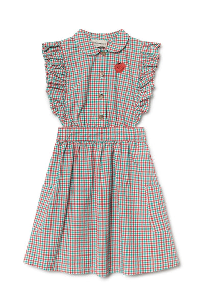Bobo Choses Vichy Ruffles Dress