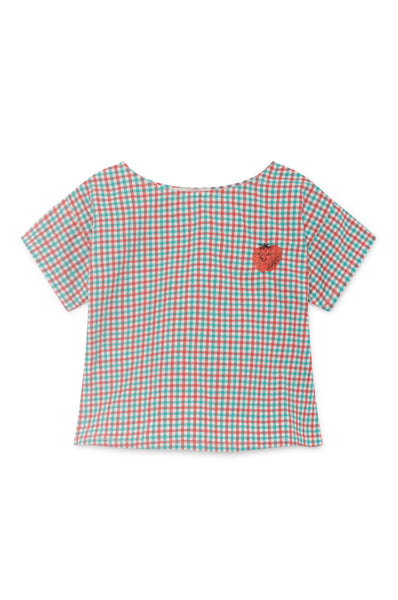 Bobo Choses Vichy Short Sleeve Shirt