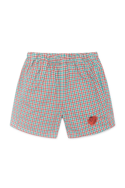 Bobo Choses Vichy Shorts