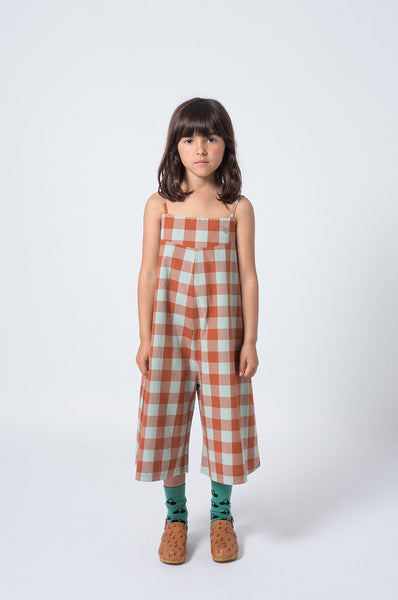Bobo Choses Vichy Straps Playsuit