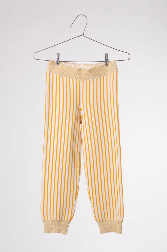 Bobo Choses  Knitted Legging Yellow Stripes