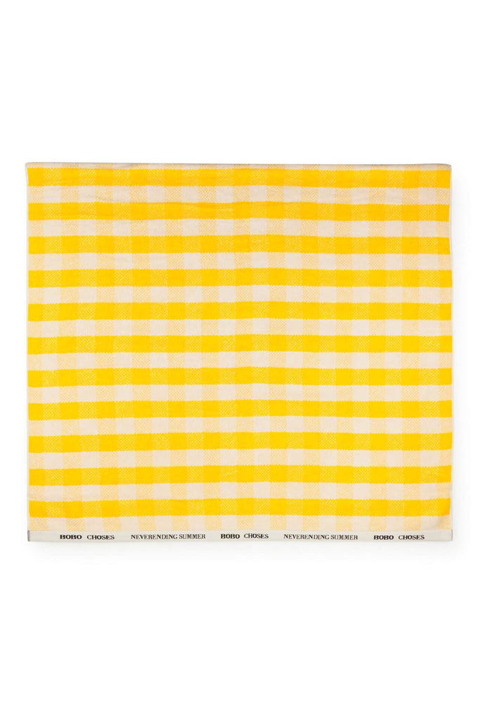 Yellow Vichy Towel Bobo Choses