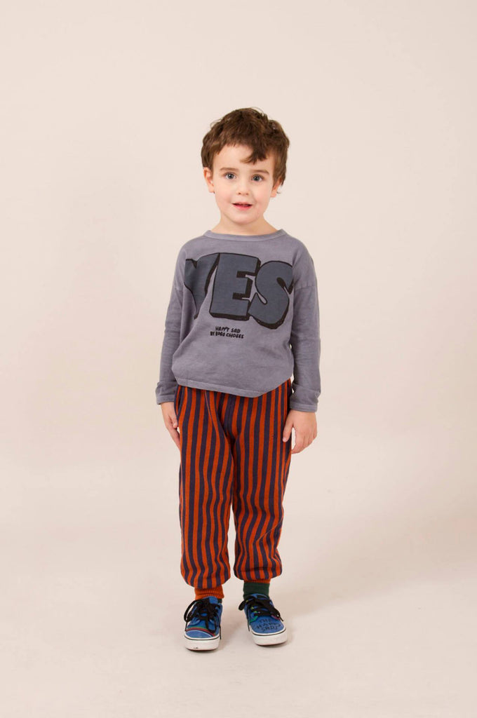 Bobo Choses Yes No Round Neck T-Shirt