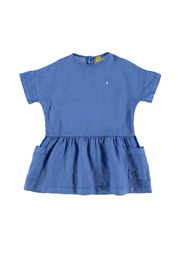 BONMOT ORGANIC Dress Dot Fresh Blue