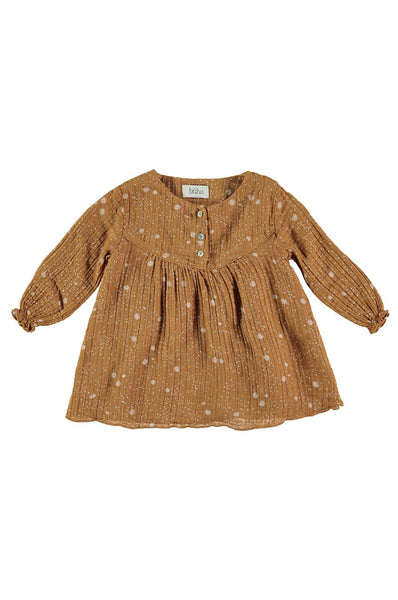 Buho Rosie Liberty Dress Biscuit