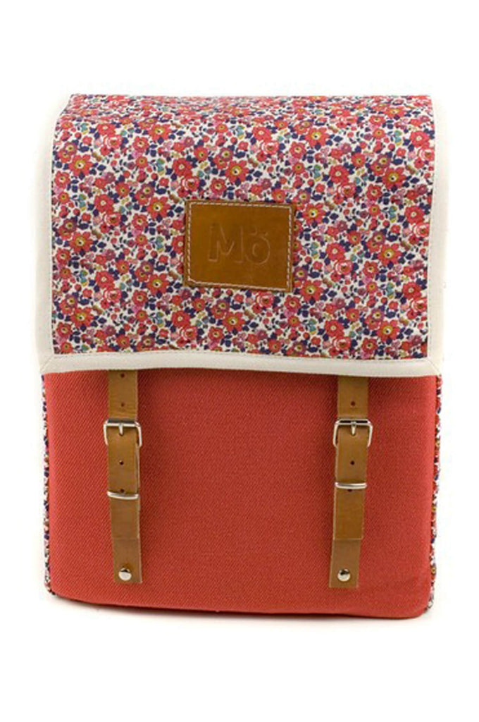 Women Backpack Cerise Globby Bloom