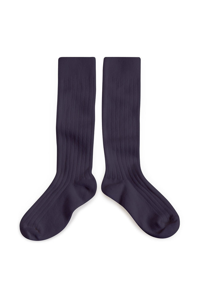 Knee Socks Night Blue