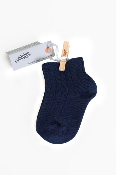 Ankle Socks Night Blue Collegien