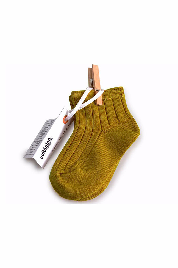 Ankle Socks Mustard