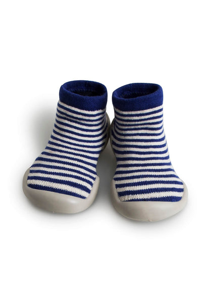 Blue Lines Slippers