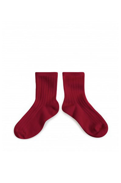 Ankle Socks Marsala