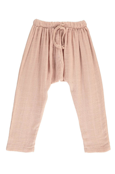 Harem pants in faded pink