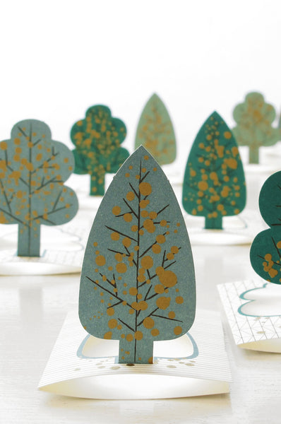 Forest – pop-up tree cards