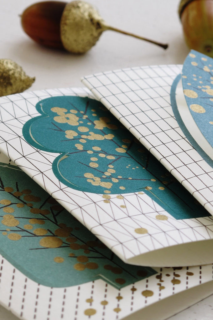 Forest – pop-up tree cards Jurianne Matter