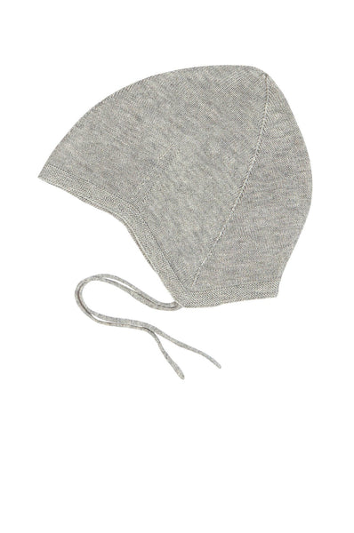 FUB  Knitted Baby Hat light grey