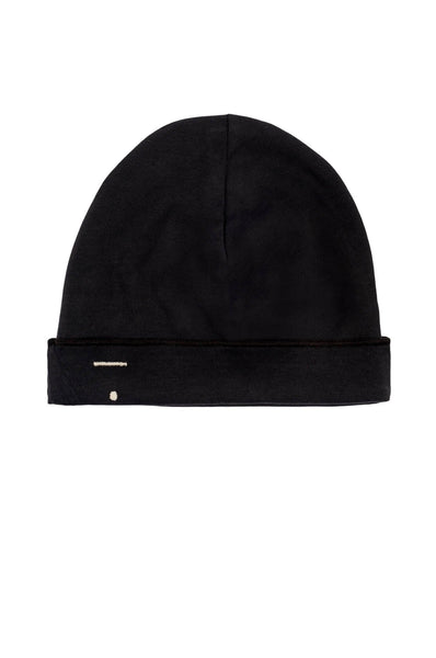 Baby Beanie Nearly Black