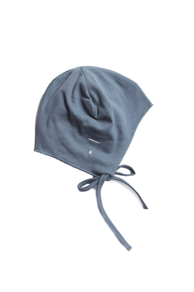 Gray Label Baby Hat with strings Denim