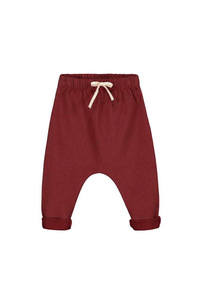 Gray Label Baby Pant Burgundy