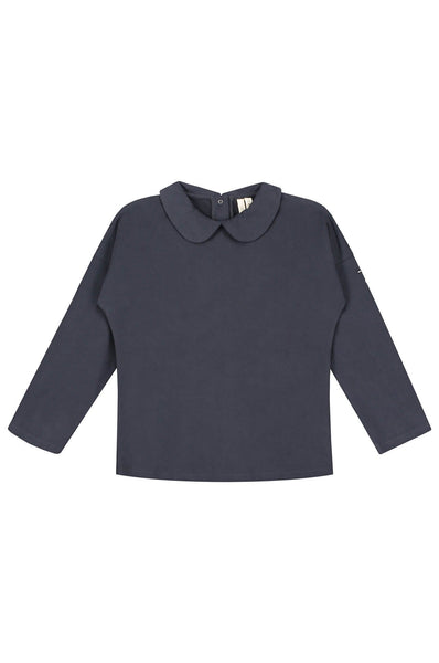 Gray Label Collar L/S Tee Night Blue