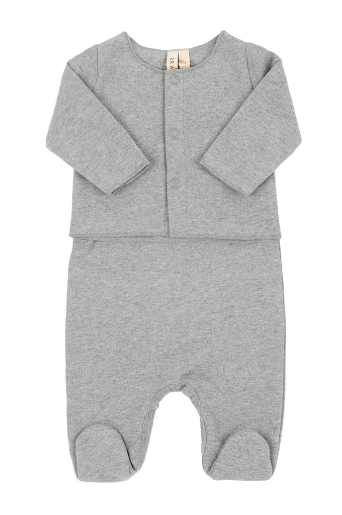 Newborn Sleeveless Suit & Cardigan