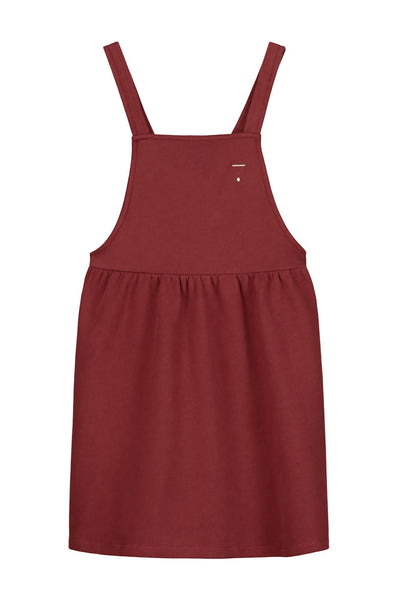 Gray Label Pinafore Dress Burgundy