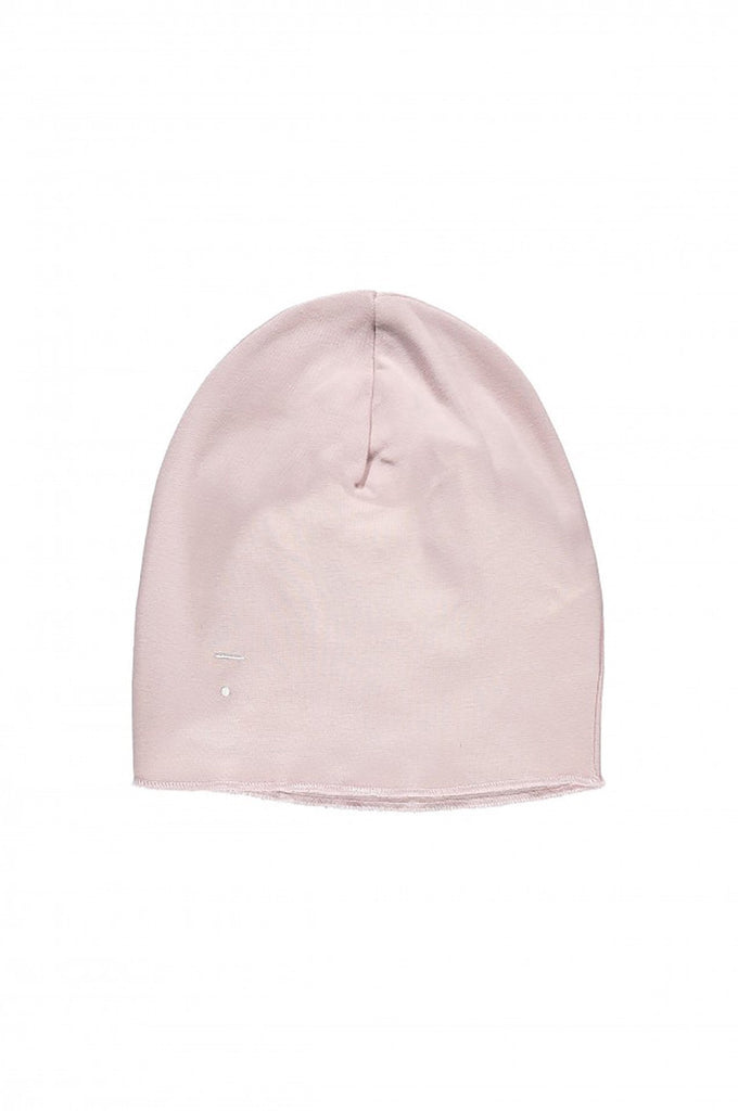 Beanie Vintage Pink Gray Label