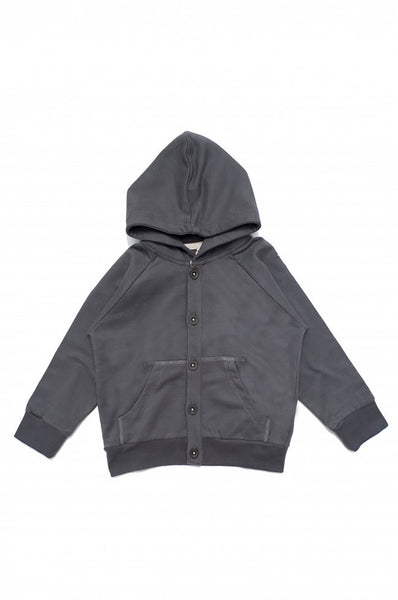 Hooded Sweater Dark Grey
