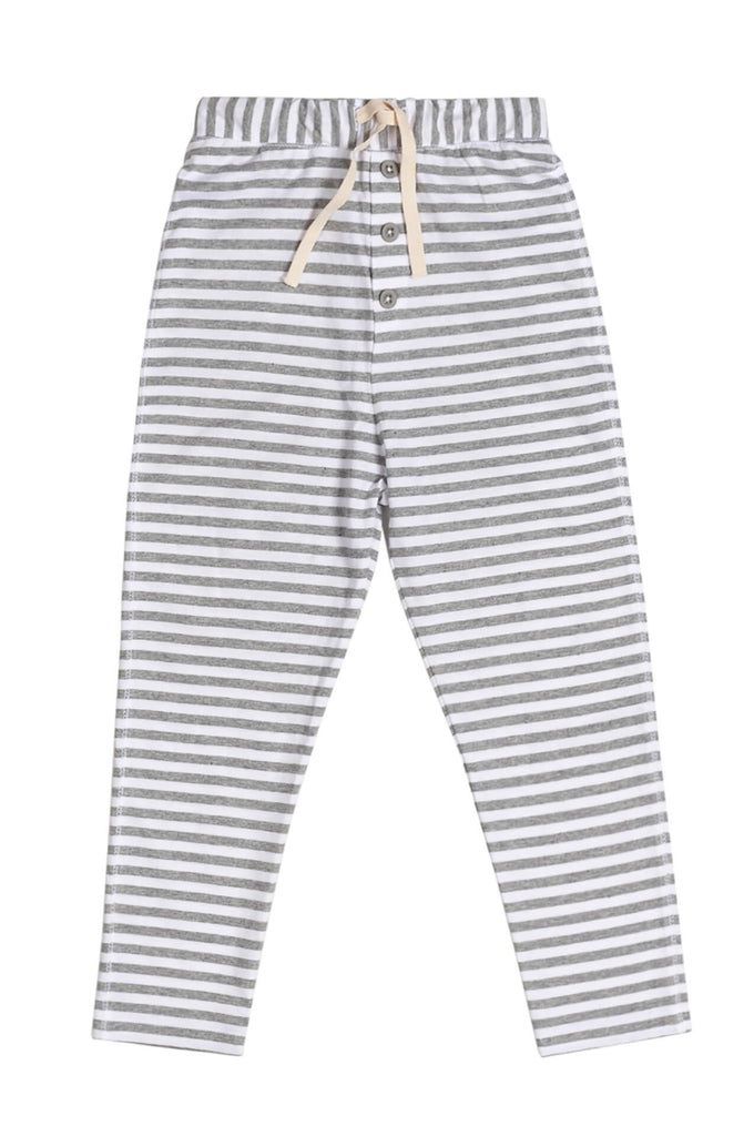 Gray Label  Summer Drop-Crotch Trousers Stripe
