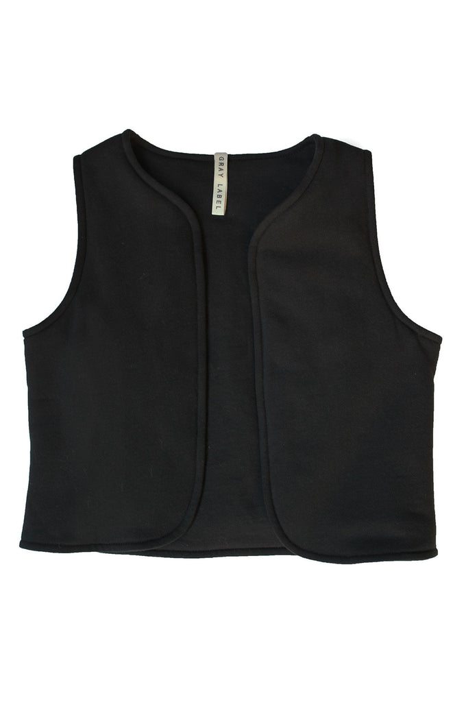Vest Nearly Black